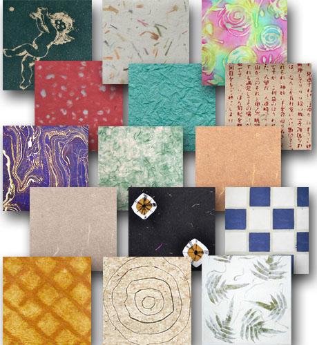 Handmade paper composite-459W